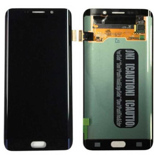 Samsung S6 Edge Plus LCD - שחור