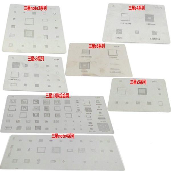 Samsung S6 Edge Plus Reball Stencil