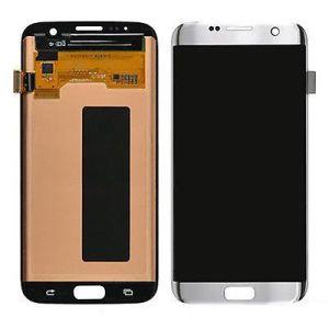 Samsung S7 Edge LCD - כסף
