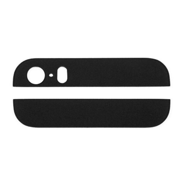 אייפון 5 זכוכית תחתונה ועליונה - שחור