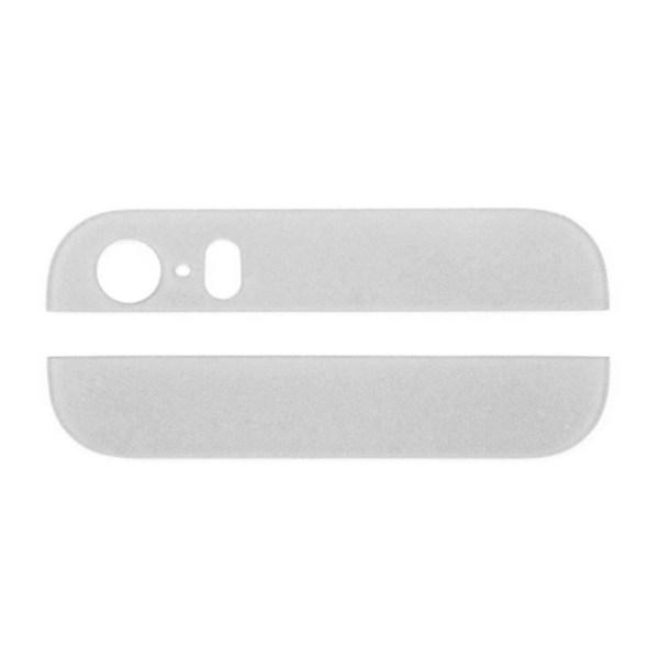 אייפון 5 זכוכית תחתונה ועליונה - לבן