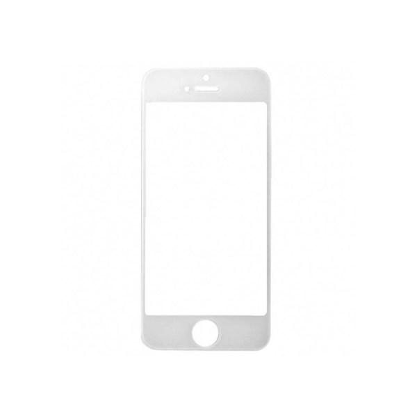 אייפון 5 זכוכית קדמית - לבן