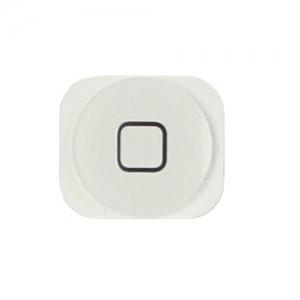אייפון 5 כפתור בית (פלסטיק) - לבן