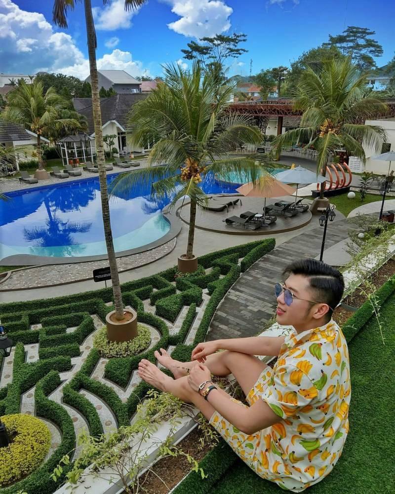 Kolam Renang Di Java Heritage Purwokerto