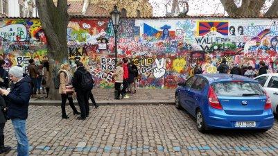 Praag (73) - Lennon Wall