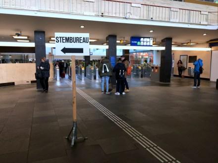 Stemlokaal Station Eindhoven 2017 (2)