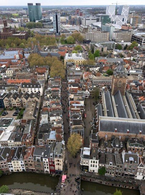 Beklimming Domtoren Utrecht - Uitzicht (4)