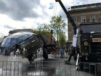 Landmacht dagen 18 Septemberplein Eindhoven 2017 (1)