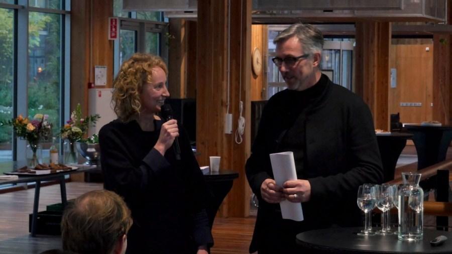 Lonny van Ryswijk (Atelier NL) & Hans Gubbels (Cube design museum)