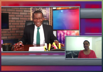 TV Interview on The Samy Priso Show