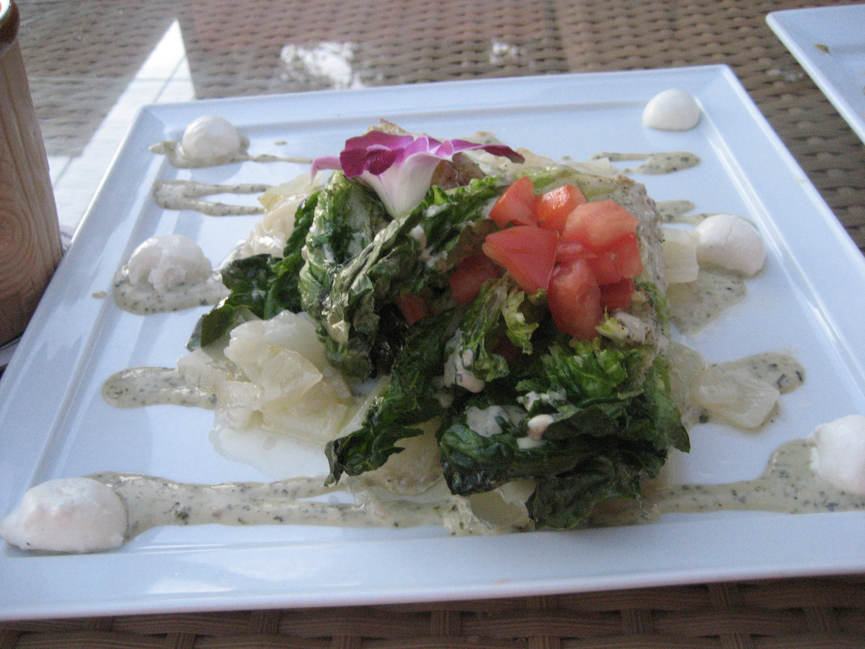Hawaiian style Caesar Salad
