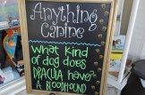 """A bloodhound"" hahaha!"