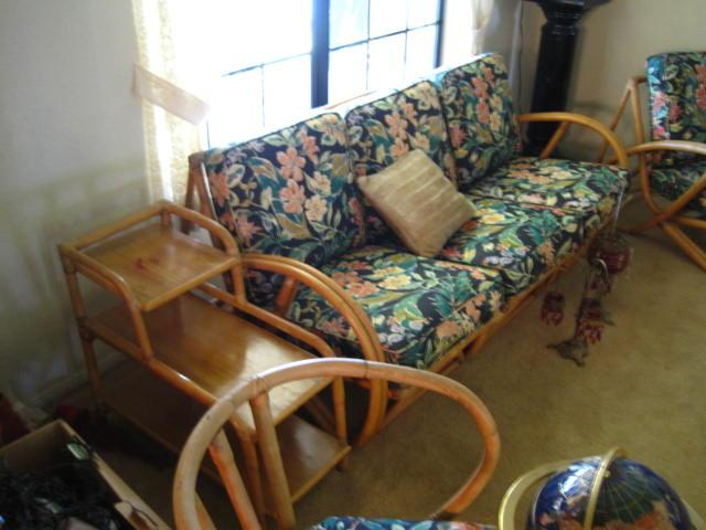 Vintage Rattan Furniture Find in So Cal    Tiki Central