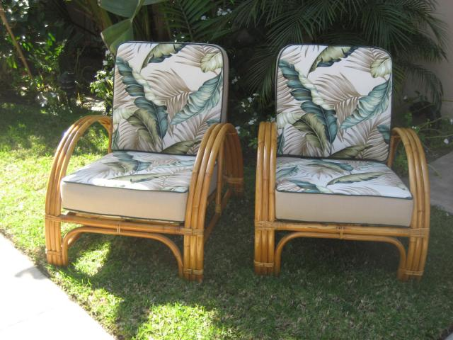 Over 25 pieces of vintage rattan available for sale    Tiki Central