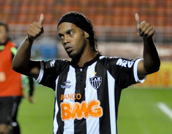 Ronaldinho to Besiktas