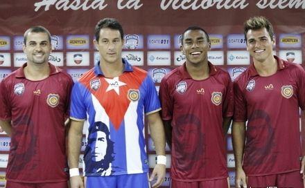 O novo uniforme do Madureira Fut 7 faz homenagem à viagem para Cuba