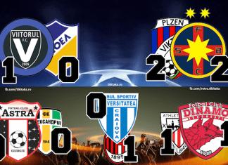 Viitorul APEOL, FCSB Plzen, Astra Oleksandria, Craiova Milan, Dinamo Bilbao