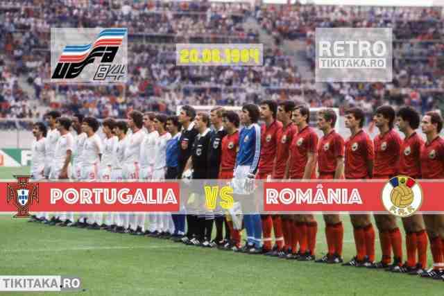 Romania 0-1 Portugalia 1984