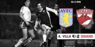 Aston Villa Dinamo 1982
