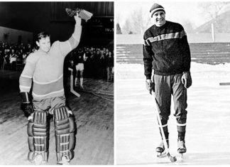 Lev Yashin hockey 1953