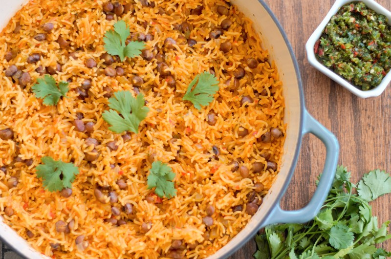 Puerto Rican Rice & Beans
