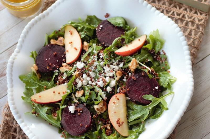 Beet Quinoa Salad with Lemon Vinaigrette