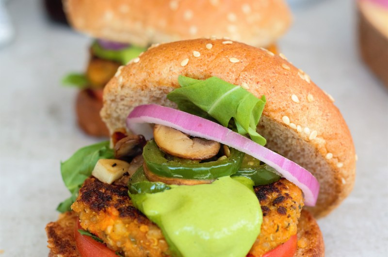 White Bean & Quinoa Veggie Burger