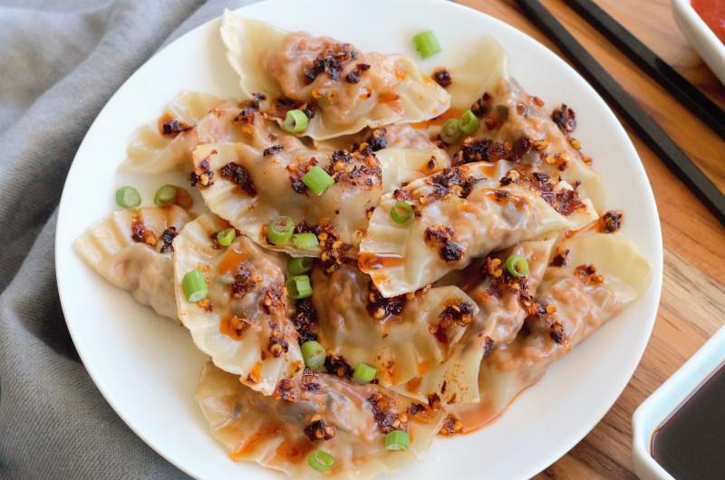 Tofu & Mushroom Dumplings