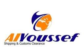 AlYoussef Shipping للشحن الدولي والتخليص الجمركي  حلب دمشق اللاذقية حماه