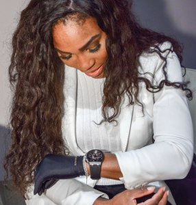 Jam tangan mewah Serena Williams
