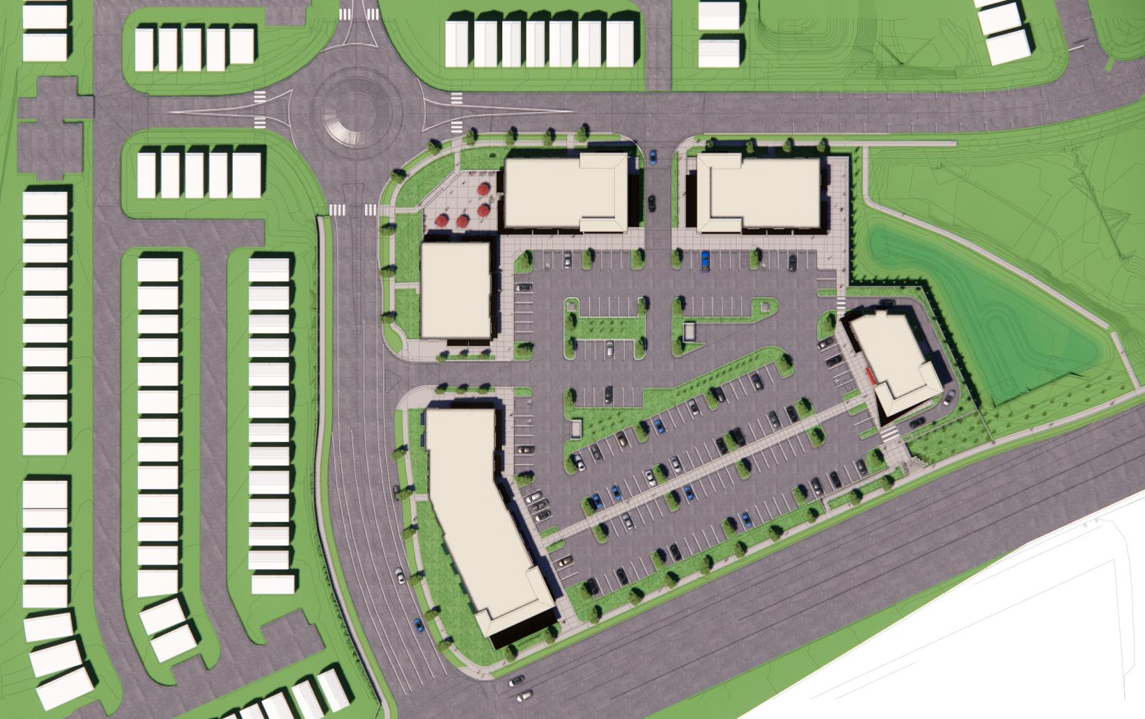 Crestview Crossing Site Plan