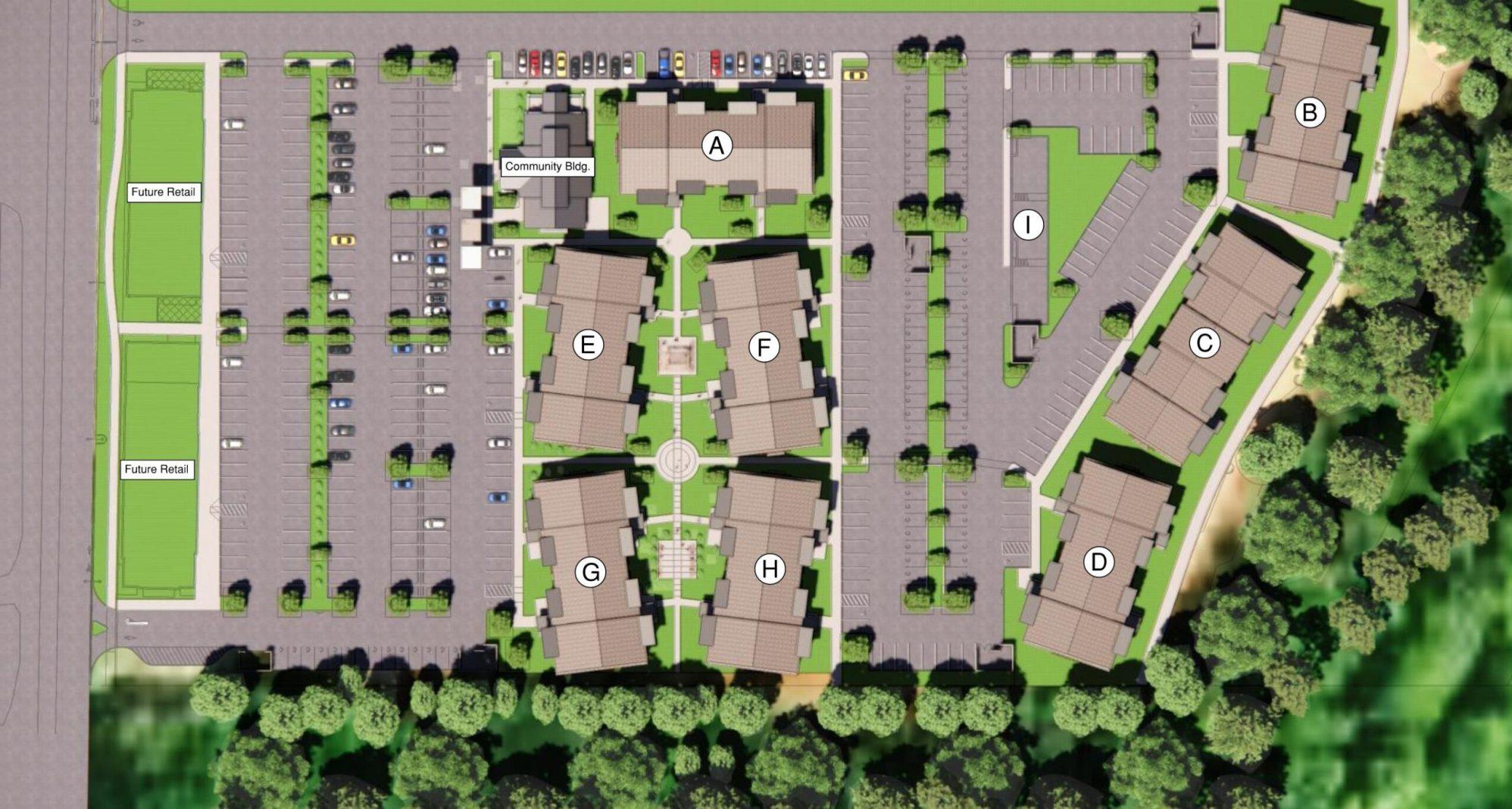 Legacy Trails Site Plan