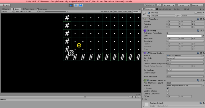 RogueLike C# in Unity (2/13): The generic Entity, the render