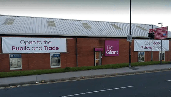 Monday-Friday 0800-1730 Saturday 0830-1600 Sunday CLOSED Tel- 01268 552222 Fax- 01268 450304 infopitseatilecentrecouk. Oldham Tile Giant Tile Shop In Oldham Tile Giant