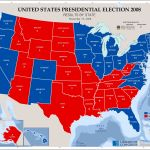United States Presidential Election 2008 Results By State November 19 2008 Library Of Congress
