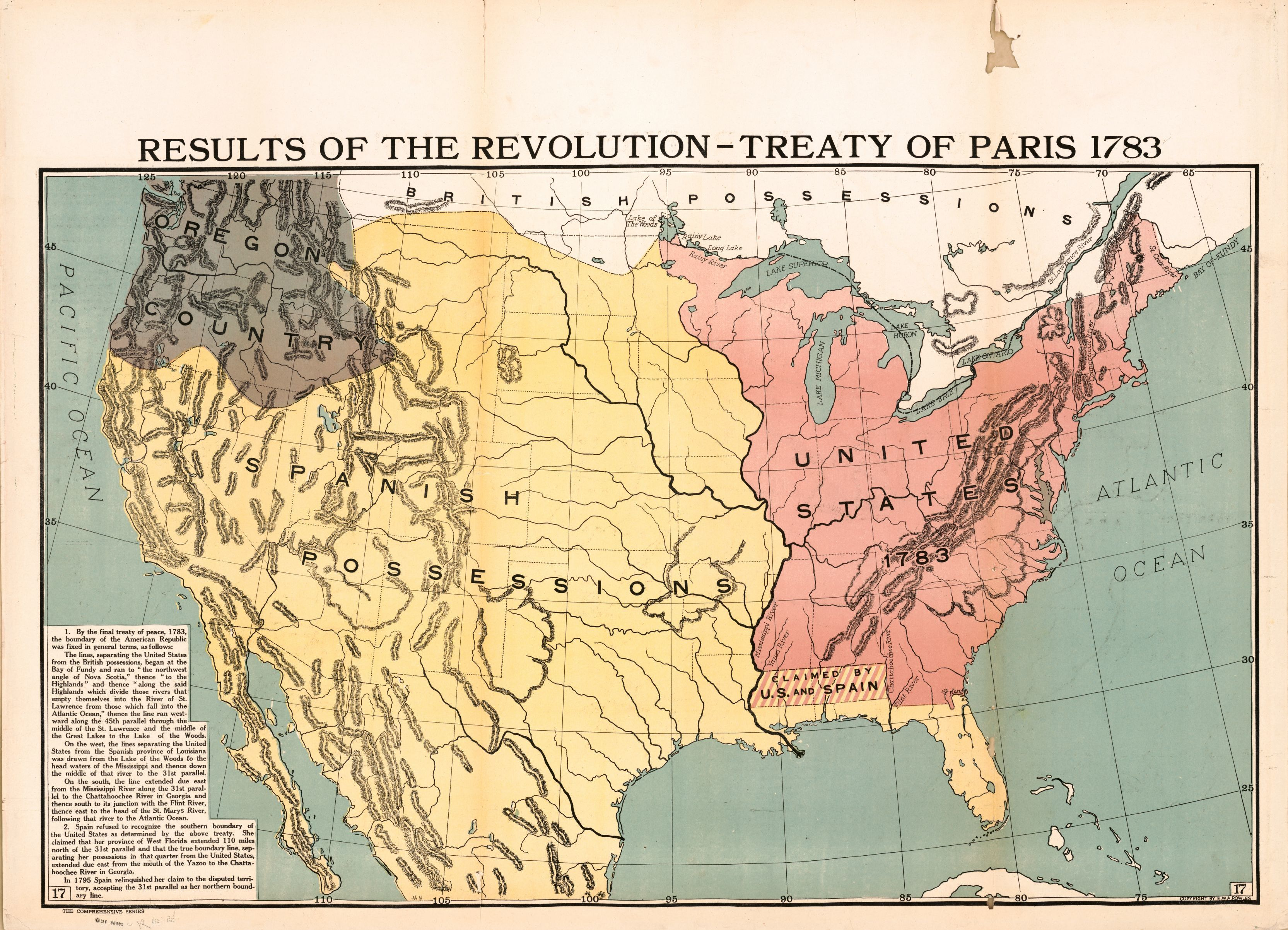 Results of the Revolution - Treaty of Paris 1783 | Library of Congress