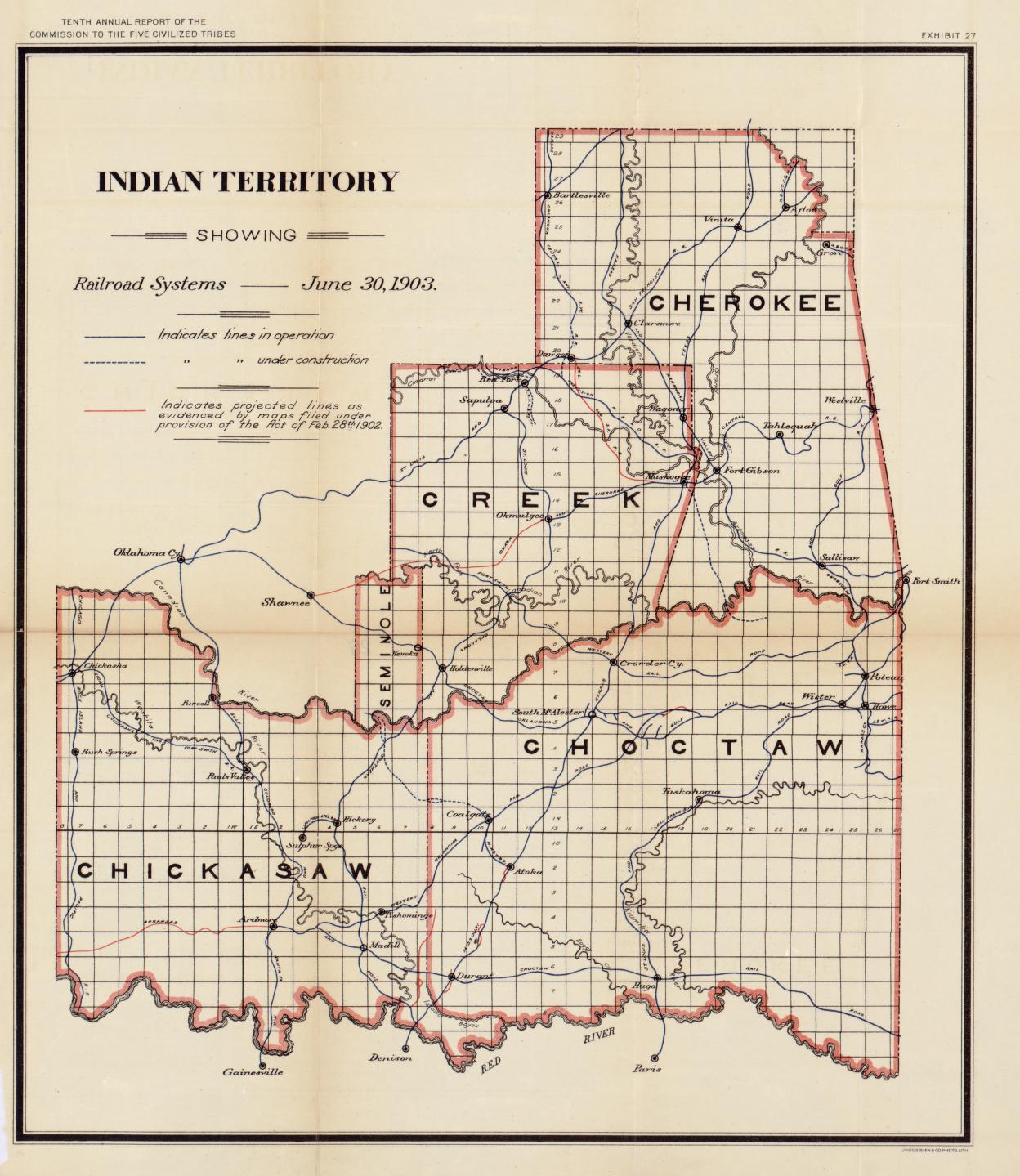 Map To Oklahoma Maps