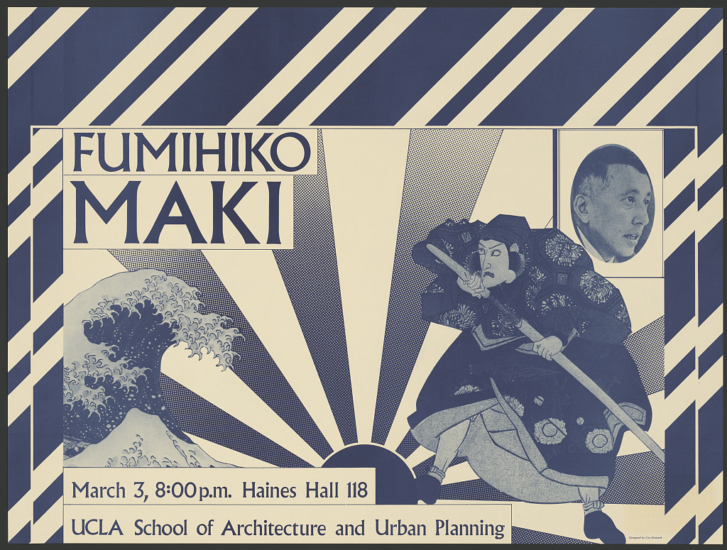 fumihiko maki march 3 8 00 p m ucla school of architecture and urban planning designed by coy howard library of congress