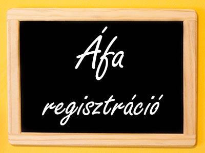 Áfa regisztráció