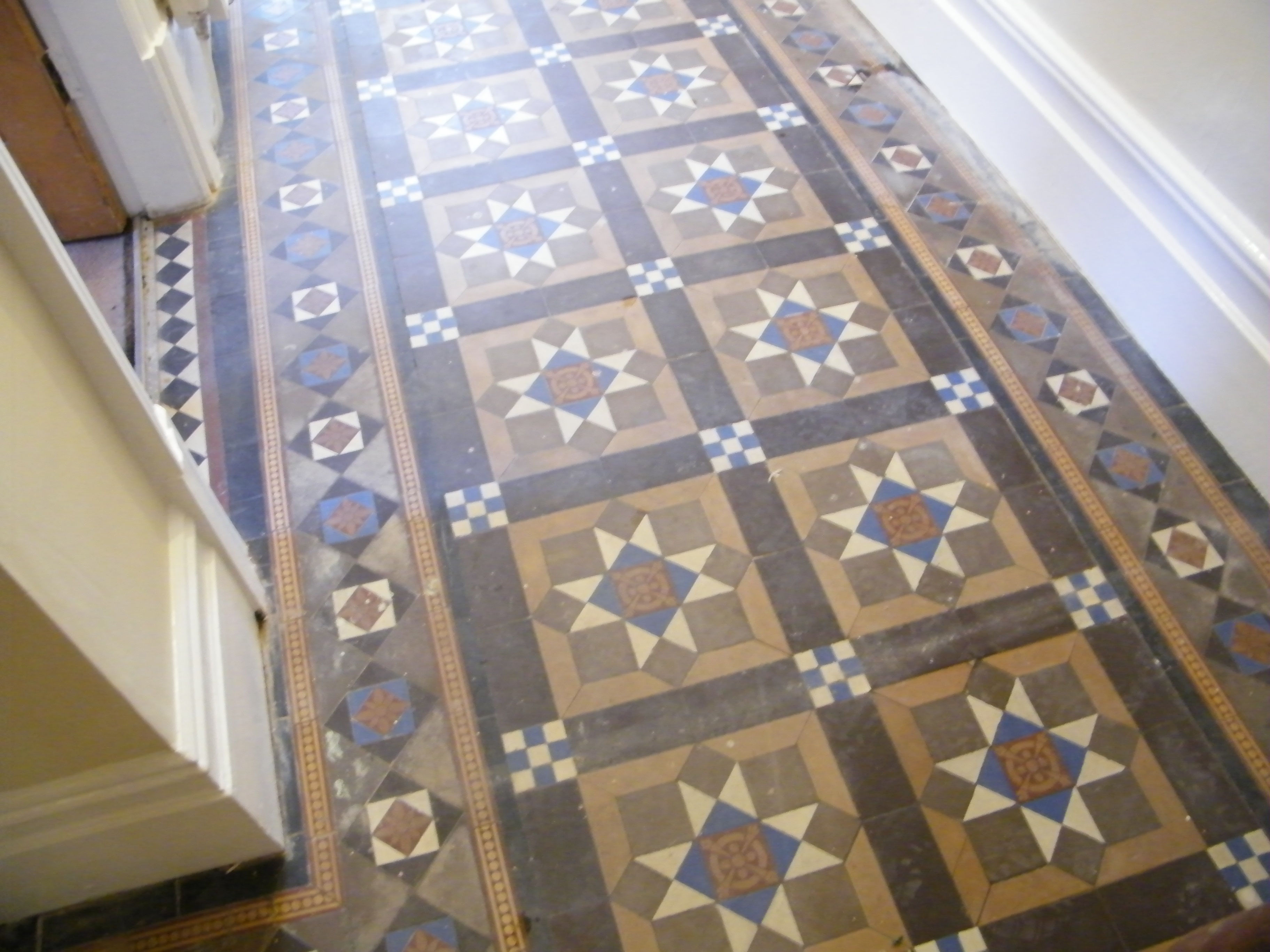 Victorian Hall Floor Cleaning And Sealing In Macclesfield Cheshire