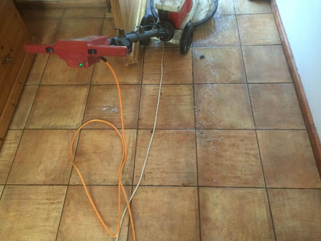 Ceramic Floor Tile And Grout Cleaning Sealing And Polishing Balsall