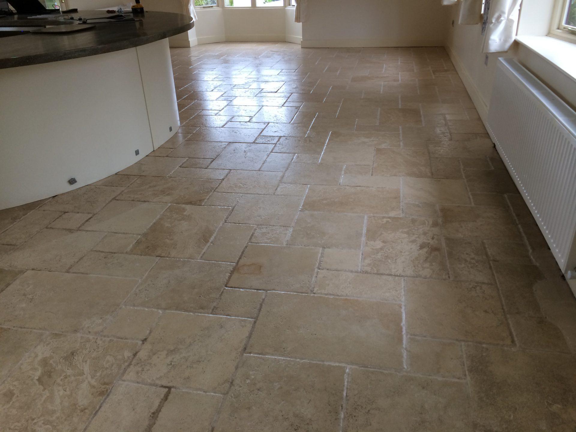Travertine Floor Cleaning Repairing Sealing Kingsheath