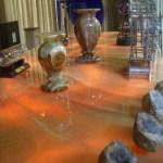 Backlit kitchen onyx slab countertop with honey onyx backsplash Fort Collins
