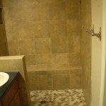 Full Kerdi master bathroom shower tile in Fort Collins