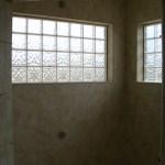 Glass Block window installation in Loveland, CO