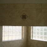 Glass Block exterior window installation in Loveland, CO