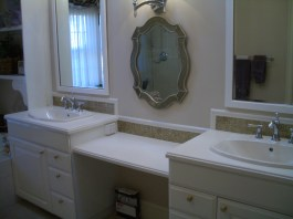 Staron hard surface countertop installation contractor in Fort Collins, Colorado