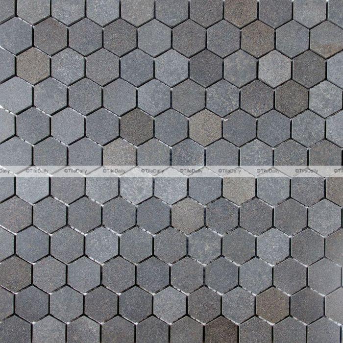 basalt hexagon mosaic