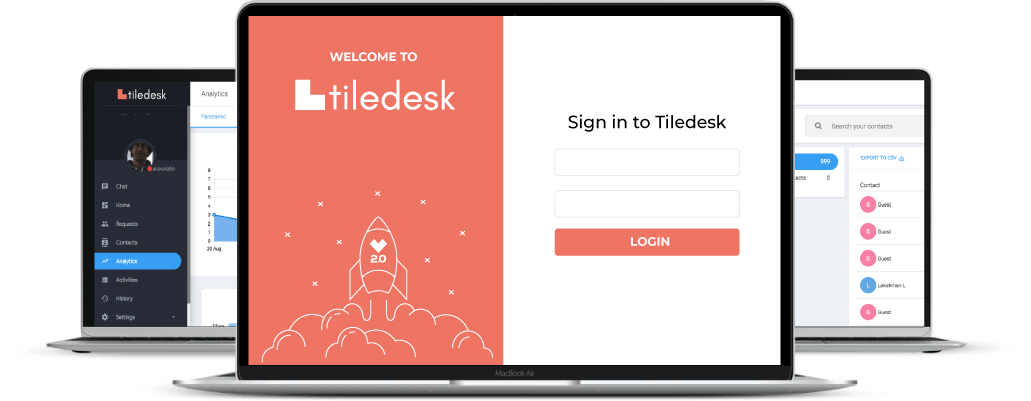 tiledesk backoffice