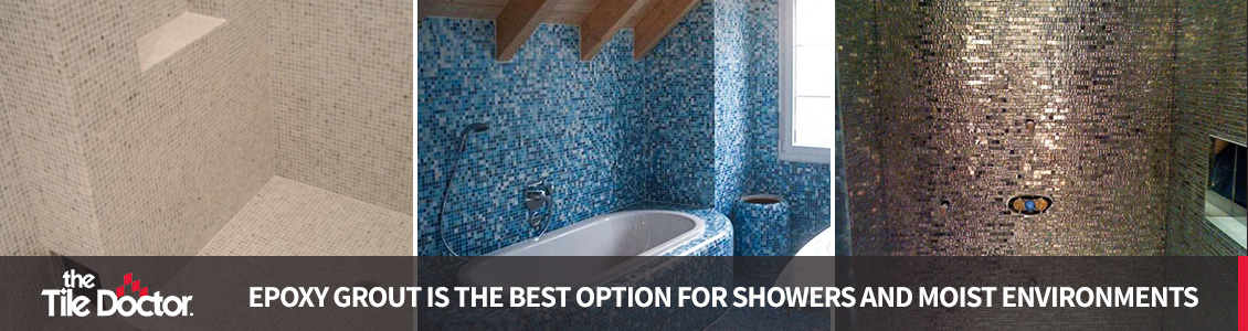 best grout for your shower tile